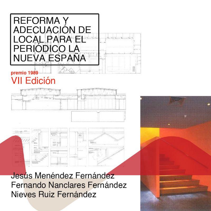 Premio Asturias Arquitectura 1989