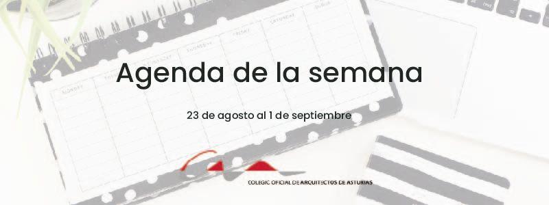 Agenda del 23 de agosto al 1 de septiembre