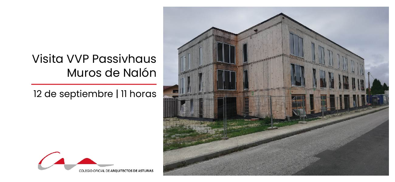 Visita a 20 viviendas VPP Passivhaus en Muros de Nalón