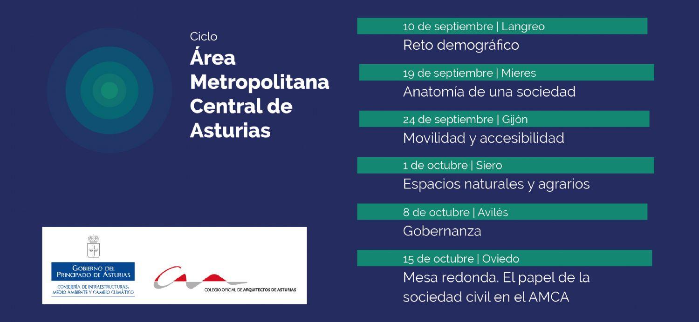 Ciclo de conferencias del Área Metropolitana Central de Asturias