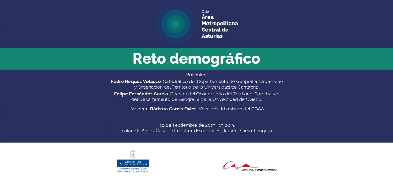 El reto demográfico, a análisis en la primera jornada del ciclo AMCA