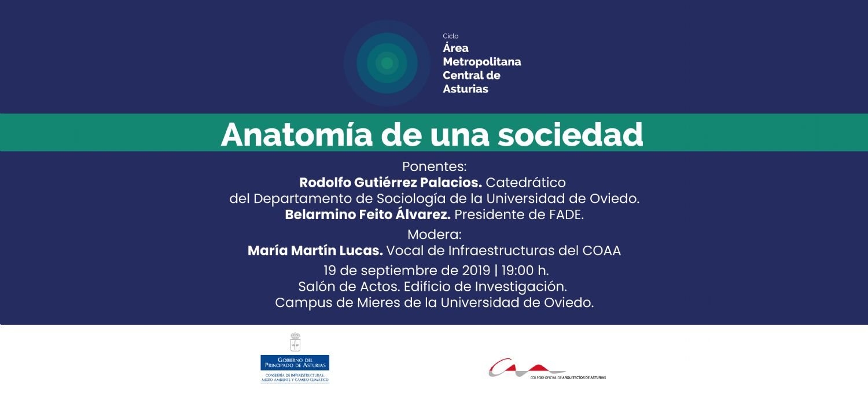 Anatomía de una sociedad, segunda jornada del ciclo AMCA
