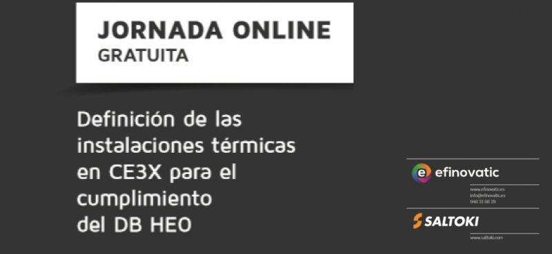 Jornada gratuita sobre Instalaciones en CE3X