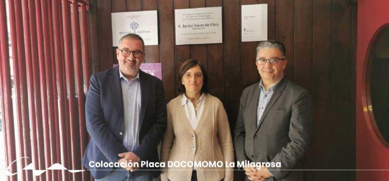 El Colegio La Milagrosa ya tiene su placa DOCOMOMO