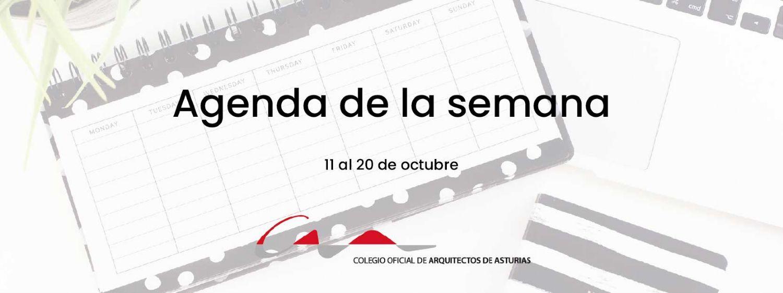 Agenda del 11 al 20 de octubre