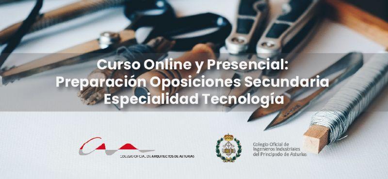 Curso Online y Presencial: Preparación Oposiciones Secundaria Especialidad Tecnología