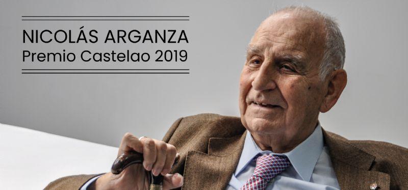 Nicolás Arganza gana el premio Castelao