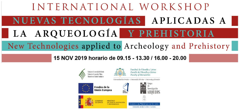 Workshop nuevas tecnología aplicadas a la Arqueología y la Prehistoria.