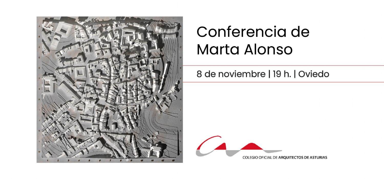 Conferencia de Marta Alonso: Oviedo a través del dibujo