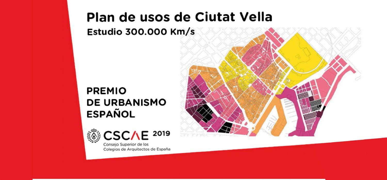 El plan urbanístico de Ciutat Vella, Premio de Urbanismo Español 2019
