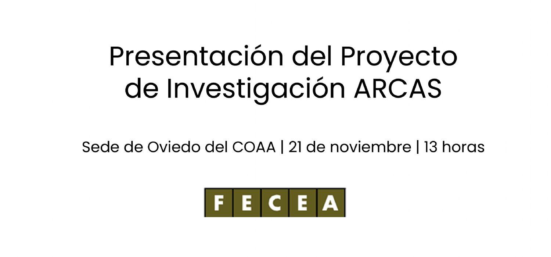 Presentación del proyecto de investigación ARCAS en el COAA