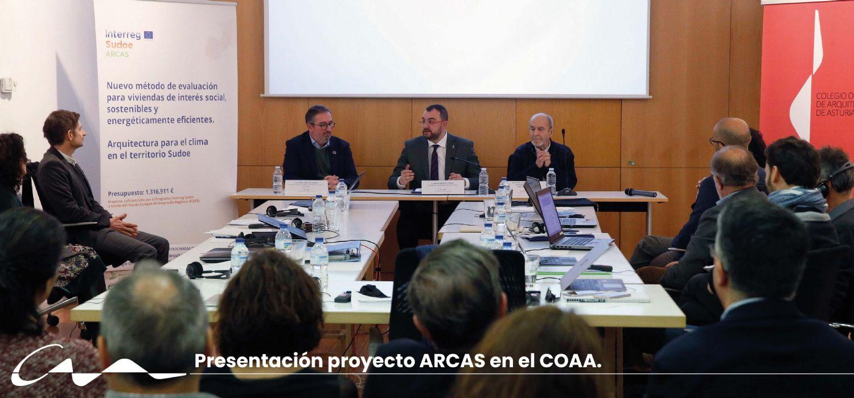 La arquitectura para el clima, protagonista en el COAA
