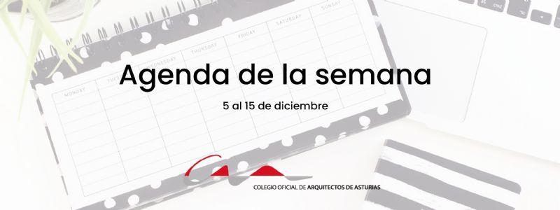 Agenda del 5 ak 15 de diciembre