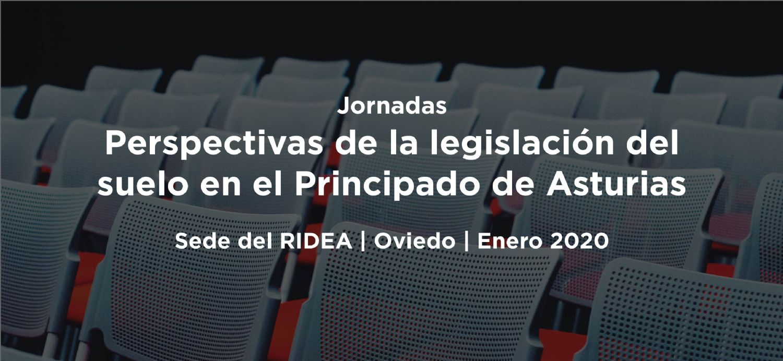 Jornadas Perspectivas de la Legislación del Suelo en Asturias