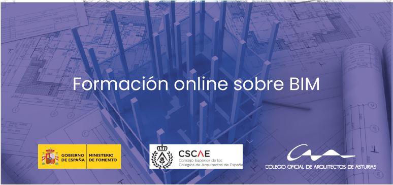 Formación online sobre BIM del CSCAE y los colegios de la zona norte