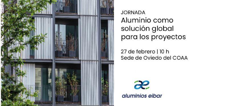 Jornada Técnica Aluminios Eibar en el COAA