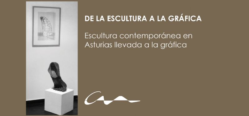 Exposición De la escultura a la gráfica en la sede de Oviedo del COAA