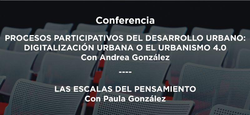 Vídeo de la conferencia de las hermanas Andrea y Paula González