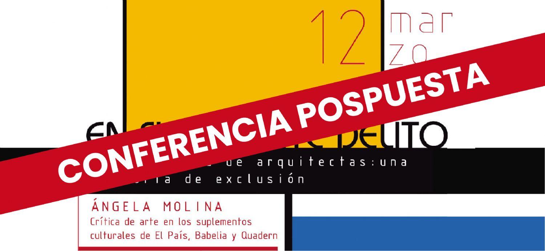 Conferencia de Ángela Molina, crítica de arte en El País, Babelia y Quadern