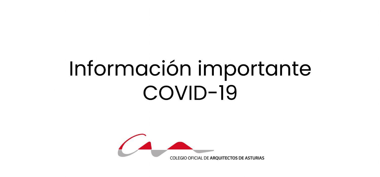 Información de interés sobre el nuevo coronavirus COVID-19