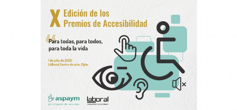 X Edición de los Premios de Accesibilidad de Aspaym