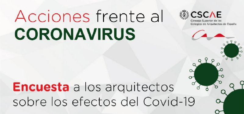 Encuesta del CSCAE para conocer el impacto del coronavirus