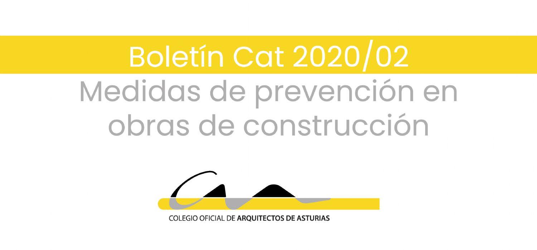 Medidas de prevención en obras de construcción por COVID-19