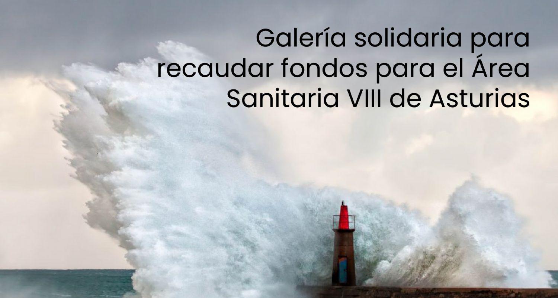 Galería solidaria para recaudar fondos para el Área Sanitaria VIII de Asturias