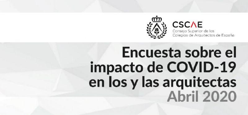 Resultados encuesta del CSCAE: Los arquitectos estiman una caída del sector de hasta el 55%