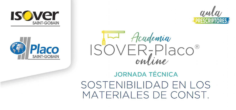 Jornada técnica Sostebilidad en los materiales de construcción
