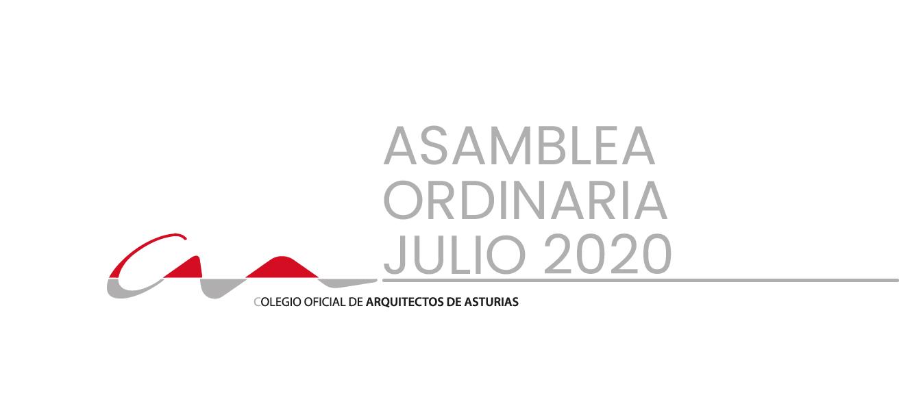 La Asamblea Ordinaria del COAA será el 22 de julio