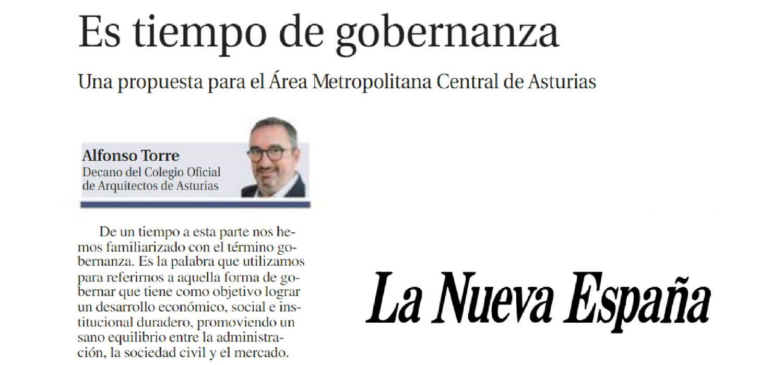 Artículo del decano en La Nueva España