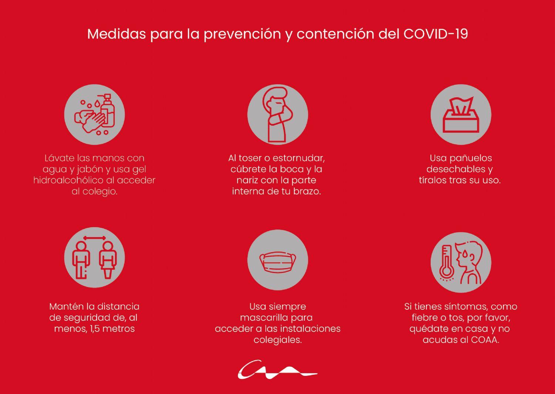 Medidas de seguridad COVID