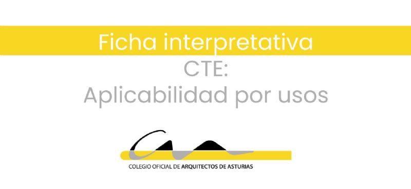 F.20.03 CTE: Aplicabilidad por usos