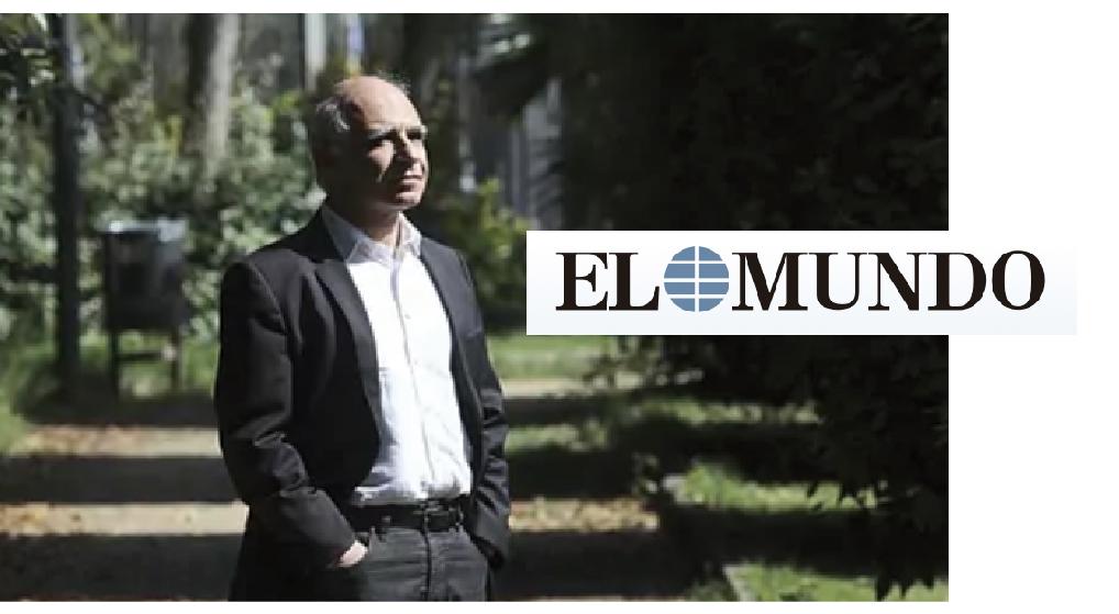 Entrevista a Lluís Comerón en el diario El Mundo