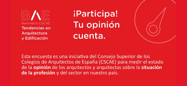 El CSCAE lanza el primer barómetro que medirá tendencias en arquitectura y edificación en España