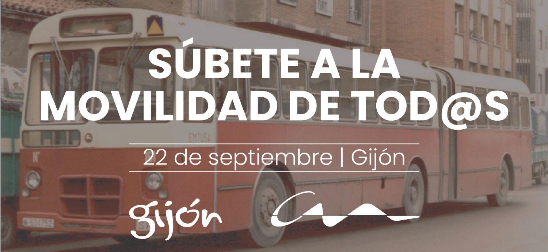 El Pegasín recorrerá Gijón para fomentar una movilidad  sostenible y para todos