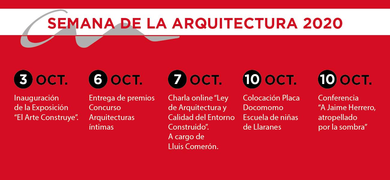 SEMANA DE LA ARQUITECTURA 2020