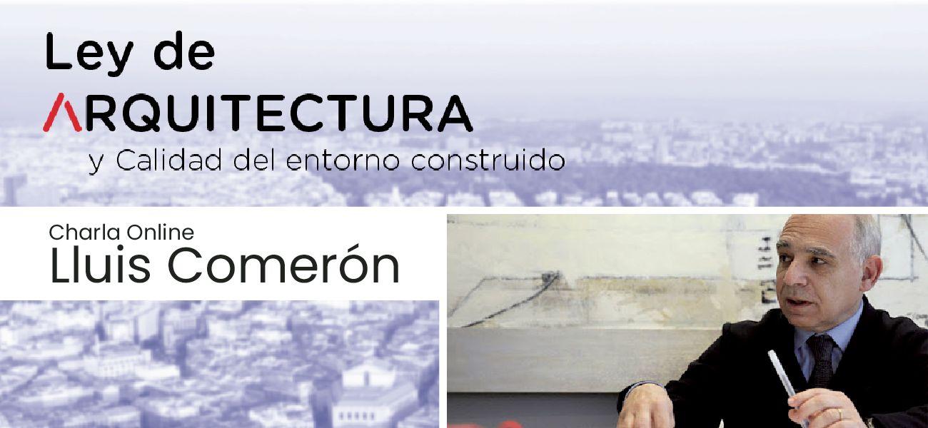 Charla online `Ley de Arquitectura y Calidad del Entorno Construido`