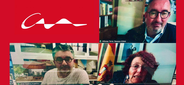 El COAA le presenta la Declaración de Davos a la Federación Asturiana de Concejos