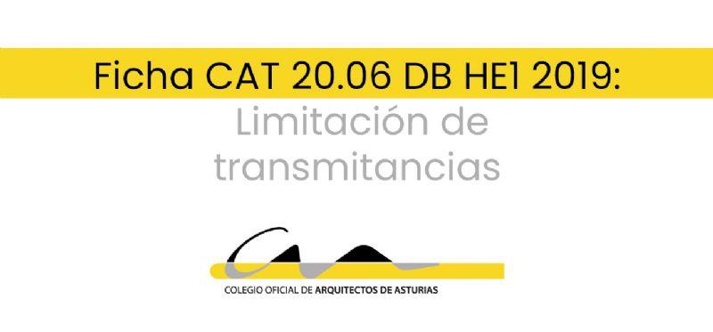 F.20.06 DB HE1 2019: Limitación de transmitancias