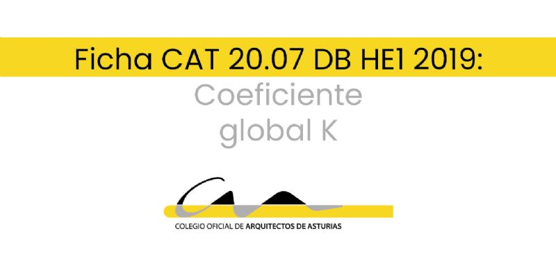 F.20.07 DB HE1 2019: Coeficiente global K