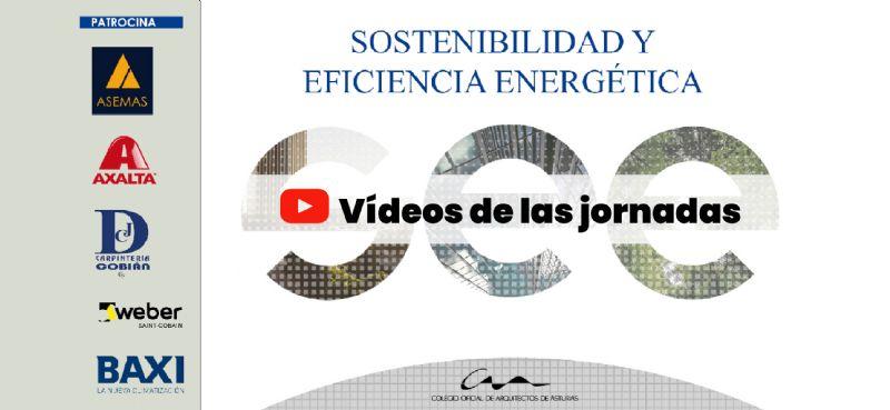 Vídeos de las jornadas de Sostenibilidad y Eficiencia Energética