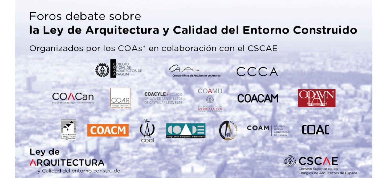 Más de un centenar de colegiado/as de toda España participaron en los #DebatesCOAs