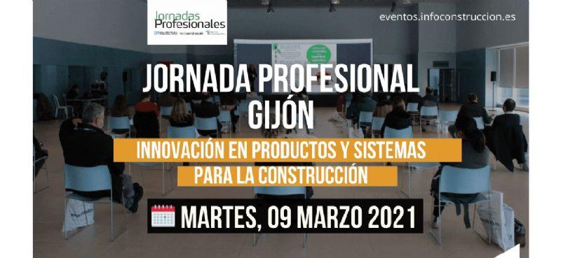 Gijón 2021: Innovación en productos y sistemas para la construcción