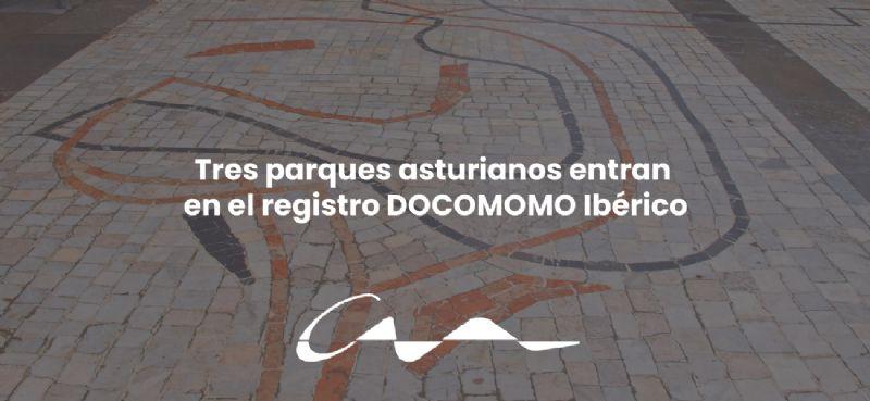 Tres parques asturianos entran en el registro DOCOMOMO Ibérico