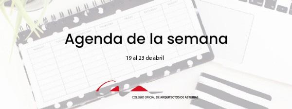 Agenda del 19 al 23 de abril