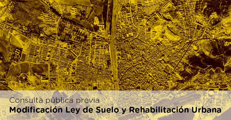 consulta pública ley del suelo