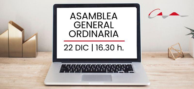 Convocatoria Asamblea General Ordinaria 30 Mayo 2019
