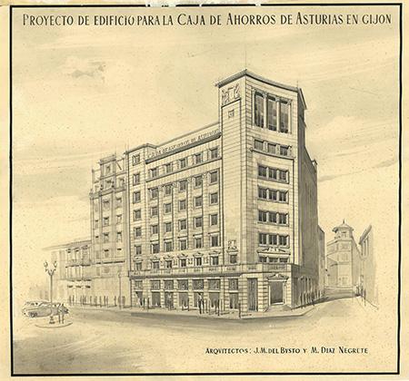 Proyecto de Negrete para Gijón
